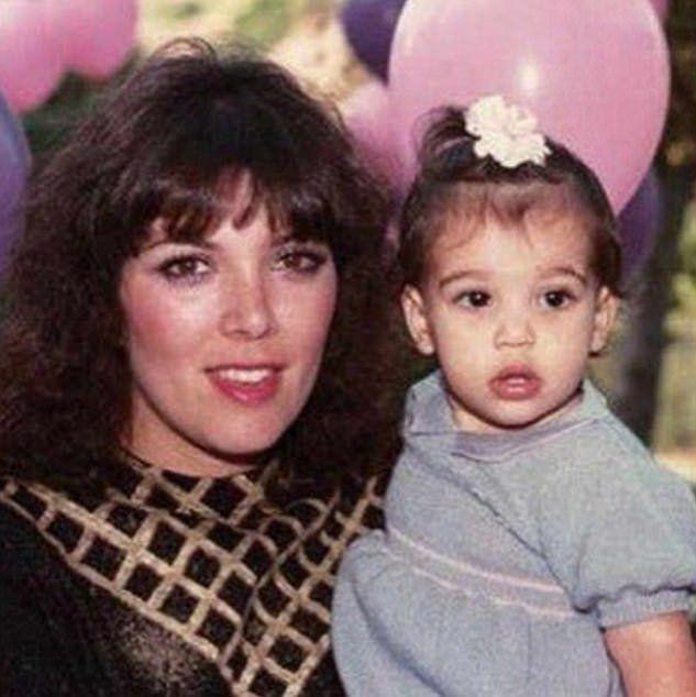 Крис и маленькая Ким