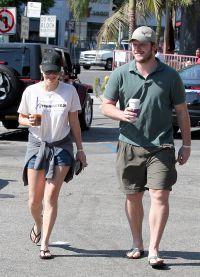 Крис Прэтт с женой