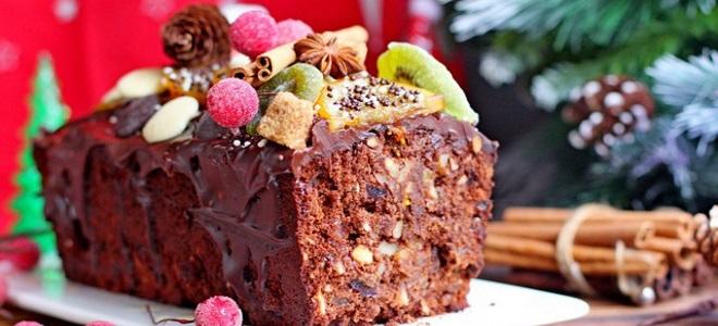 Божићна чоколадна торта