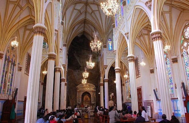 Своды собора Лас-Лахас