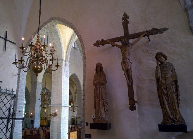 Церковь Нигулисте - внутри