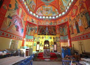 Реставрационные работы в Воскресенском храме