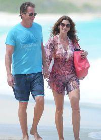 Супермодель вместе с мужем бизнесменом Рэнди Гербером