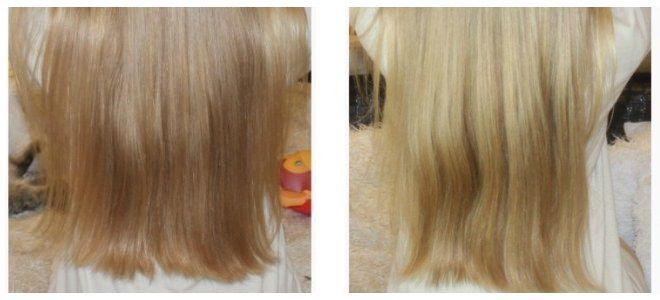 Осветление волос корицей результат на светлых