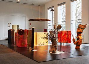 Экспозиция произведений Michael Buthe