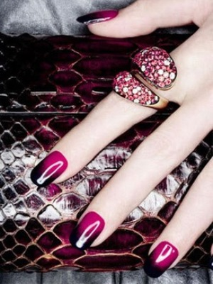 Bordeaux manicure12