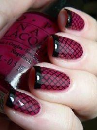 Bordeaux manicure4