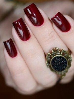 Bordeaux manicure5