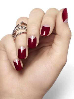 Bordeaux manicure8
