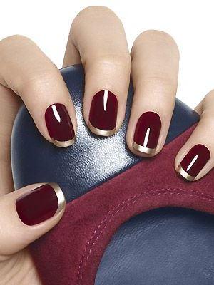 Bordeaux manicure9