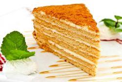 Медени класични рецепт са кастардом