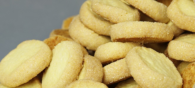 Ginger Shortbread Cookie - przepis
