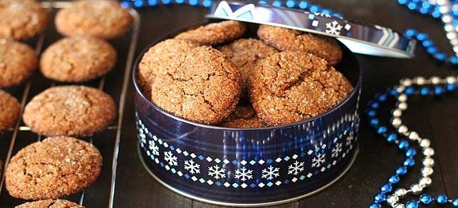 Ingver piškoti s cimetom - recept