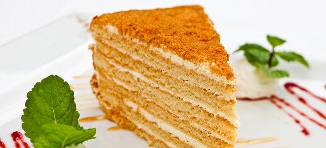 Honey Cake Miracle Recept