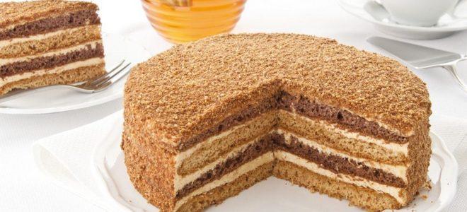 medový koláč s kondenzovaným mléčným klasickým receptorem