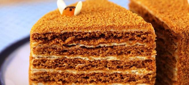 kolač od kolača od meda kod kuće recept