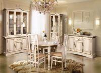 klasický bílý obývací pokoj 4