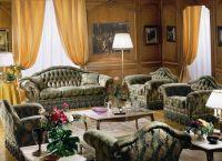 klasický obývací pokoj s nábytkem 4