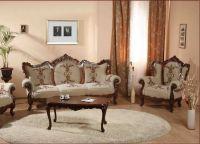 klasický obývací pokoj 7