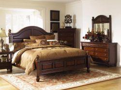 Интерьер спальни в классическом стиле