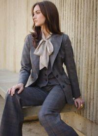 klasický styl šaty žena 4