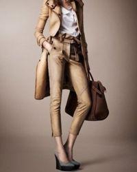 Klasična mršava ženska hlače 2