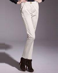 Klasična mršava ženska hlače 3