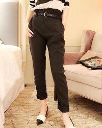 Klasična mršava ženska hlače 4