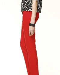 Klasična mršava ženska hlače 8