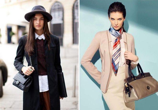 стильная классическая одежда для женщин