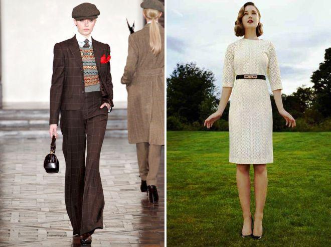классический английский стиль в одежде