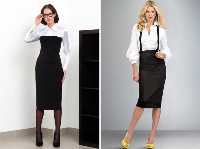 классический деловой стиль одежды для женщин