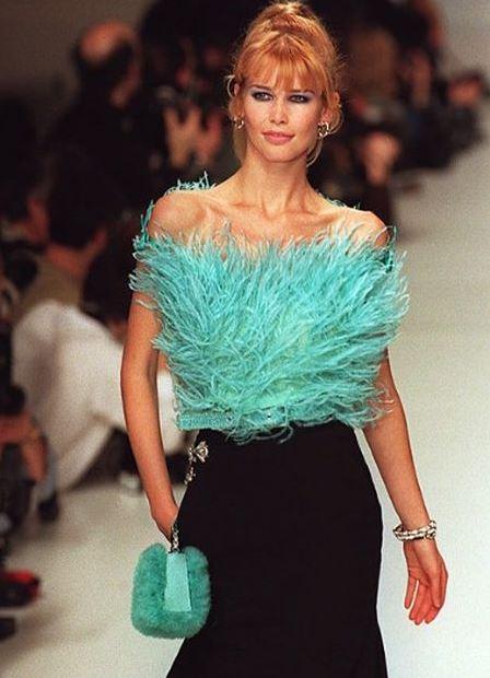 Клаудия Шиффер не только модель но и актриса
