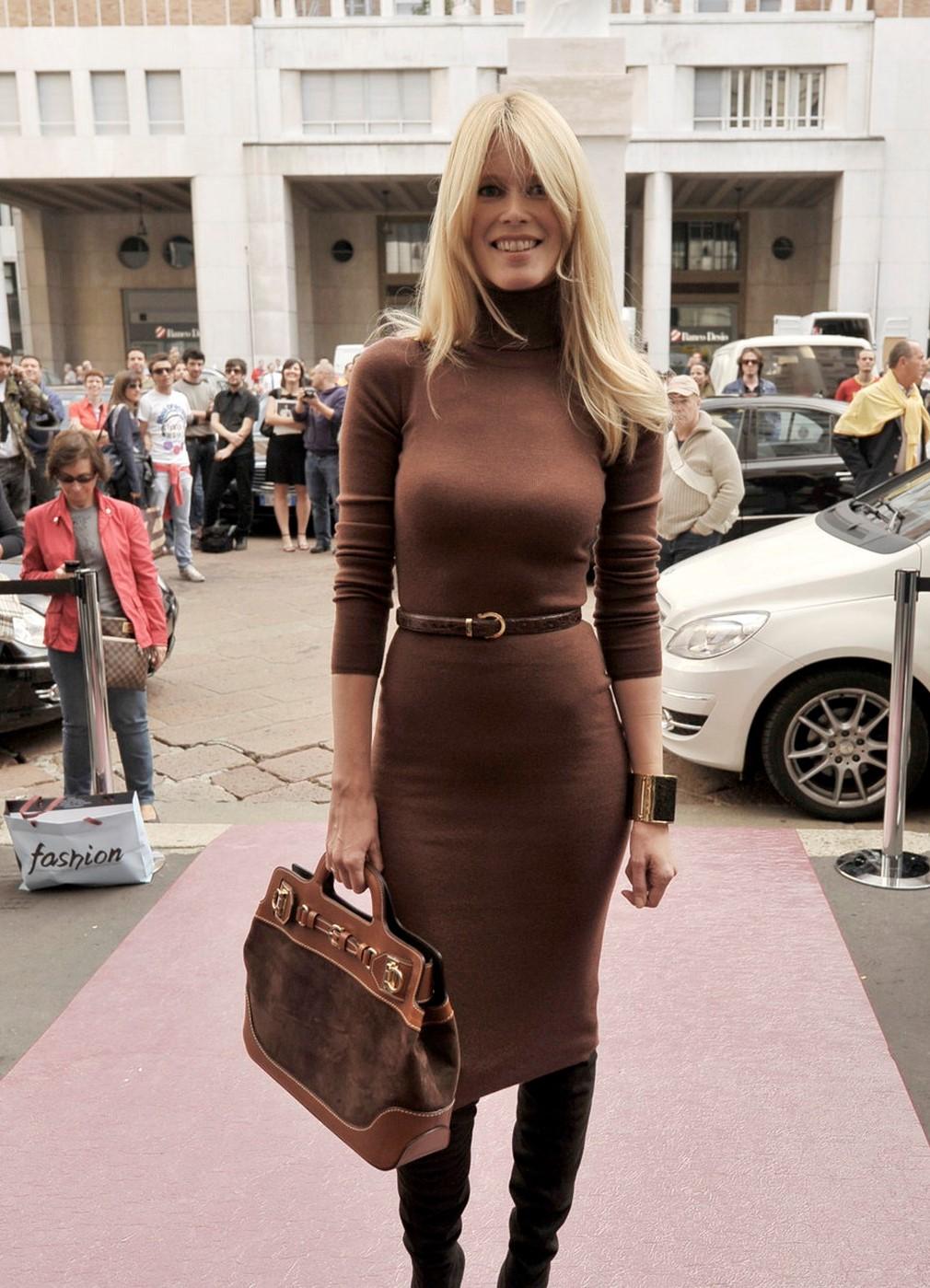 Клаудия Шиффер собиралась стать юристом а стала моделью