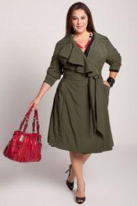 Pláště pro obézní ženy 4