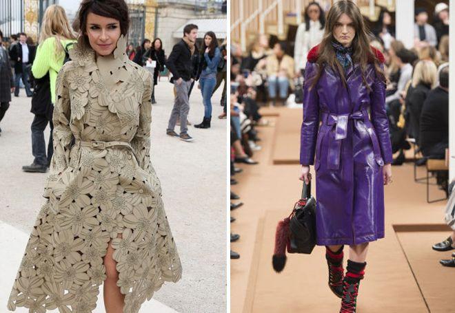 Модные тенденции плащей 2017