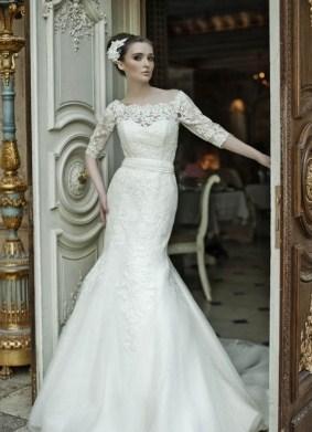Zaprta poročna obleka 4