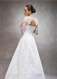 Zaprta poročna obleka 7
