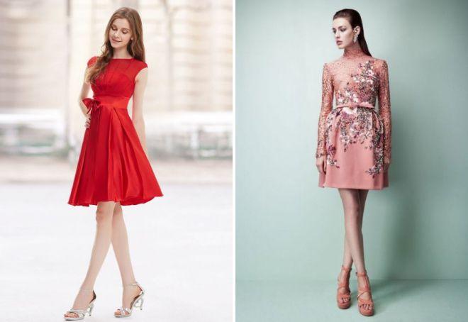 коктейльные платья 2018 года модные тенденции