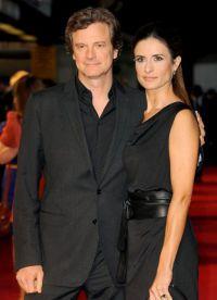 Колин Ферт считает свою жену самой красивой