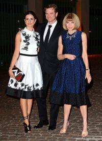 семейство Ферт с Анной Винтур