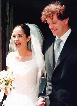 фото со свадьбы Колина и Ливии