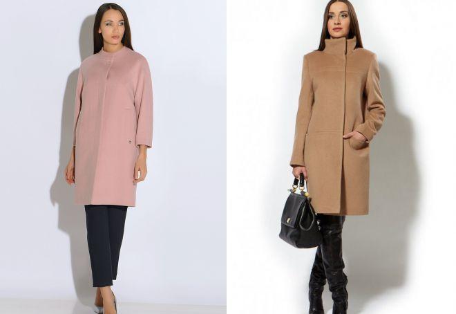 женское пальто воротник стойка