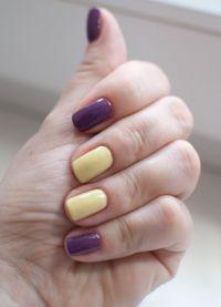 manicure o różnych kolorach 4