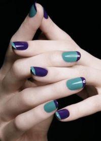manicure o różnych kolorach 5
