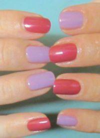 manicure o różnych kolorach 6