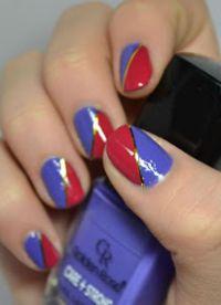 manicure o różnych kolorach 7