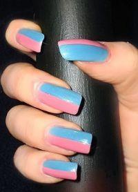 manicure o różnych kolorach 8