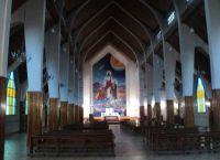 В церкви