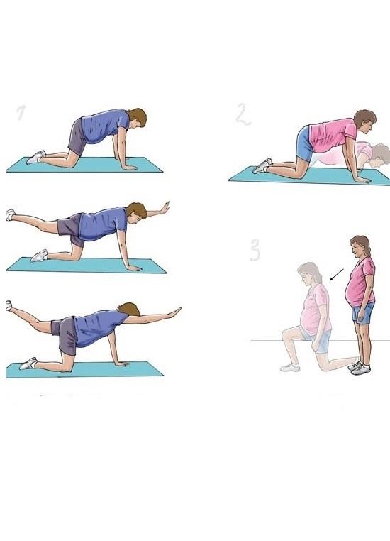 Skomplikowane ćwiczenia dla kobiet w ciąży 1